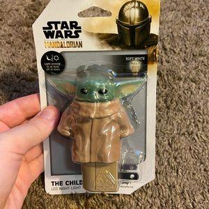 NWT Disney Baby Yoda Nightlight